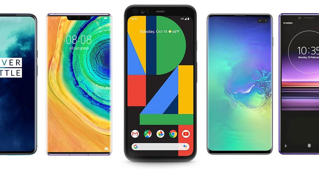 Google Pixel cuatro y Google™ Pixel cuatro XL, comparativa: así quedan contra OnePlus 7T, Xiaomi™ Mi 9, Huawei™ Mate 30 y resto de gama alta