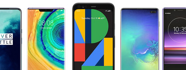 Google Pixel 4 and Google Pixel 4 XL, comparative: so are against OnePlus 7T, Xiaomi Mi 9, Huawei Mate 30 and the rest of the high-end