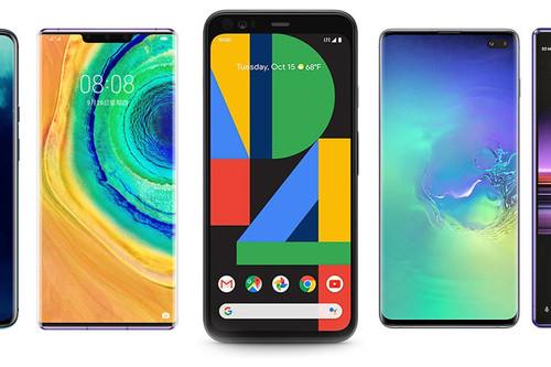 Google Pixel 4 y Google Pixel 4 XL, comparativa: así quedan contra OnePlus 7T, Xiaomi Mi 9, Huawei Mate 30 y resto de gama alta