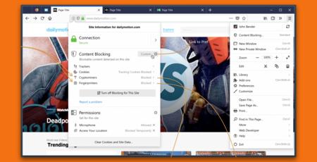 Firefox añadirá protección contra el minado de criptomonedas y el fingerprinting