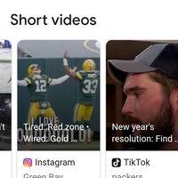 Google empieza a implementar una nueva funcionalidad para mostrar vídeos cortos de TikTok e Instagram en sus búsquedas