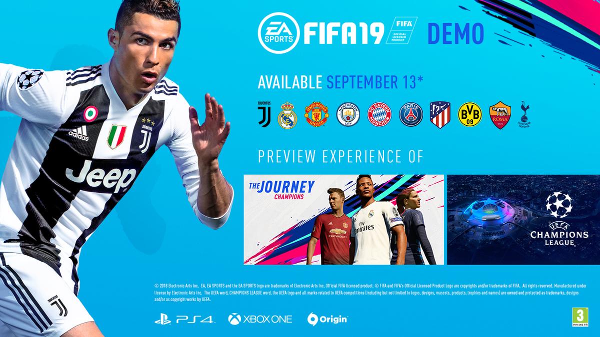 télex al exilio trabajador  FIFA 19: todo lo que necesitas saber sobre la demo en PS4, Xbox y PC