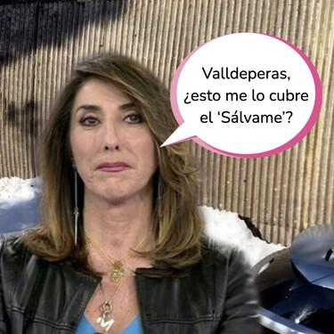 Paz Padilla sufre los destrozos de 'Filomena': Así ha quedado su garaje tras hundirse por completo