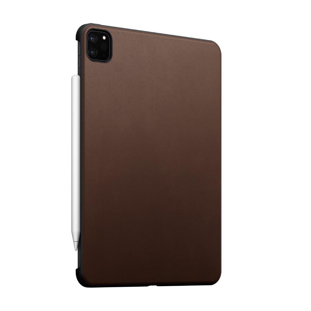 """Nomad Rugged Case funda iPad Pro 12,9"""" (3ª/4ª/5ª gen.) Piel Marrón"""