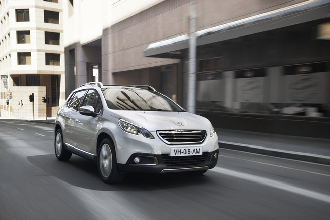 Peugeot 2008, vista frontal