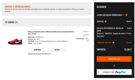 Botas descuento de fútbol Nike con un 30De descuento Botas adicional en la tienda 33d3db