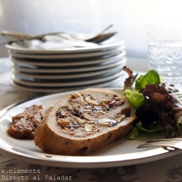 Rollo de pavo relleno: receta para salir de la rutina o apañar un menú de celebración