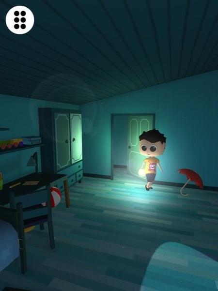 Dismonster es un juego para ayudar a los peques a que no tengan miedo a la oscuridad