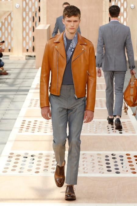 Chaqueta piel Louis Vuitton SS 2014