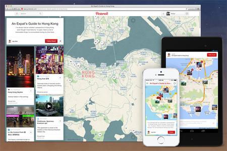 Pinterest para Android se actualiza con geo-localización de pines