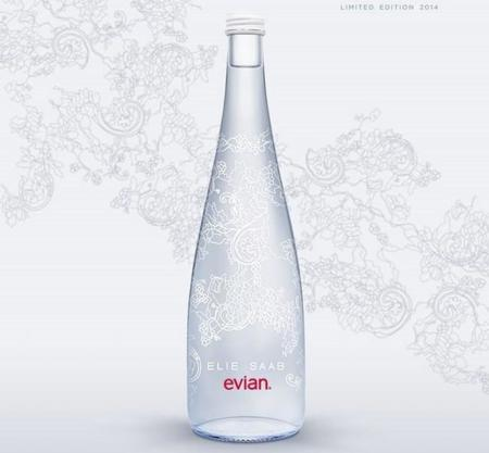 'New Evian Limited Edition 2014' by Elie Saab