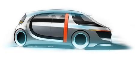 EVA, un prototipo diseñado para ser taxi eléctrico