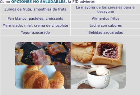 Diabetes Desayuno No