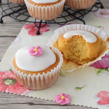 Cupcakes sencillos de albaricoque: receta para reaprovechar mermeladas de fruta