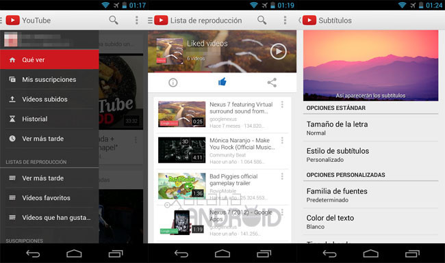 YouTube 5.5 para Android