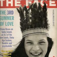Kate Moss The Face portada