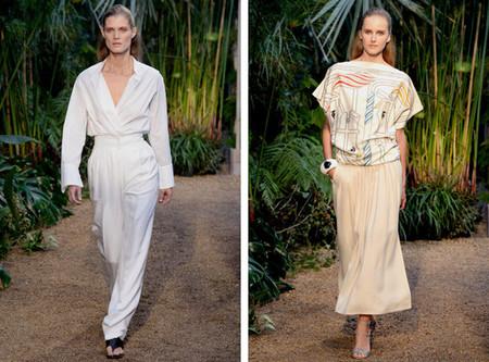 Hermès clausura la Fashion Week parisina, y expone en Cibeles