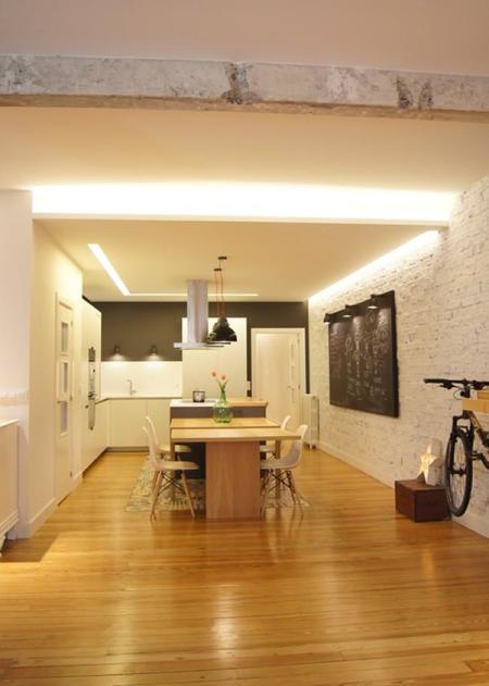 Sube Susaeta Interiorismo Casa Cocina Mesa