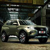 Lada 4x4 Vision Concept: el Niva se apuntará a la moda SUV en su próxima, e inminente, generación