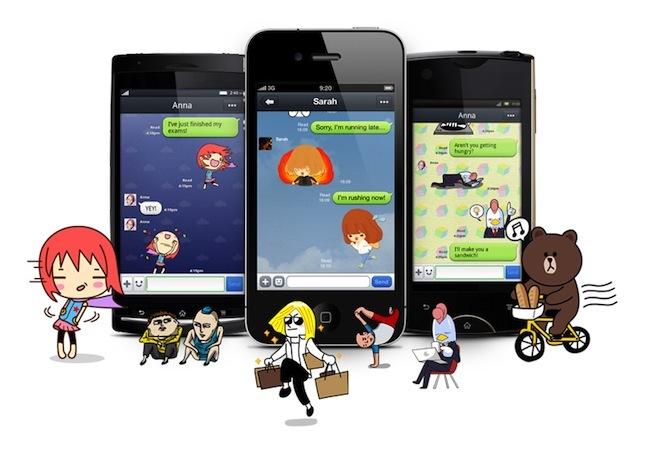 Line alcanza los diez millones de usuarios en España ¿se acaba el reinado de WhatsApp?
