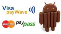 Visa y Mastercard usarán Host Card Emulation para pagos móviles NFC con Android 4.4 (KitKat)