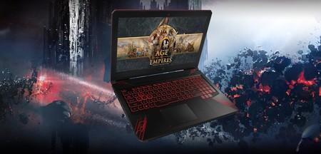 Asus TUF Gaming con Core i7-8750H, 16 GB RAM, 1 TB + 128 GB, GeForce GTX1050 a precio mínimo histórico en Amazon: 799 euros