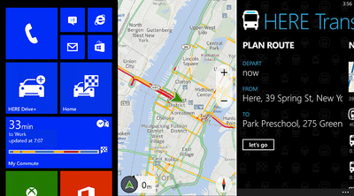 Nokia lanza HERE Drive+ para todos los Windows Phone 8