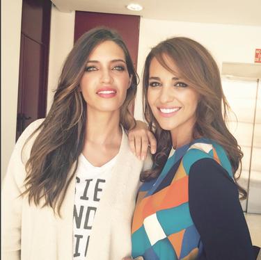 Paula Echevarría y Sara Carbonero, como niñas cuando se juntan