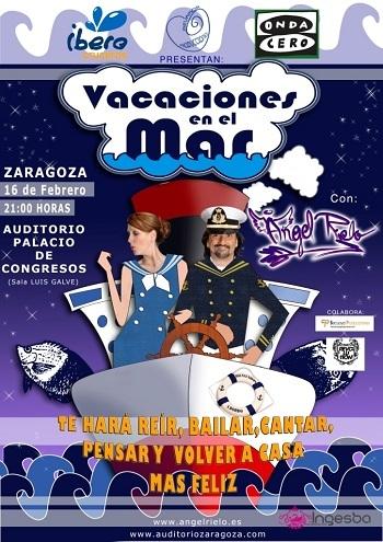 'Vacaciones en el mar' en Zaragoza regala 25 entradas dobles para desempleados