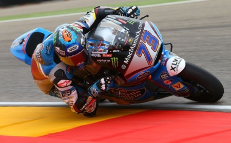 Alex Marquez Moto2 Aragon 2016