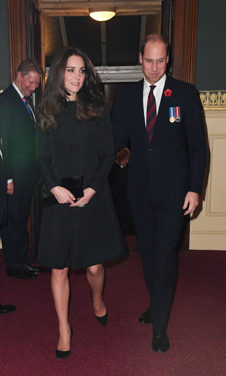 Kate Middleton Remembrance Day Dianne Von Furstenberg 2