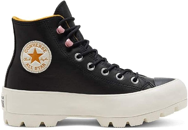 Converse Chuck Taylor All Star Lift Clean, Zapatillas de Paseo. Mujer