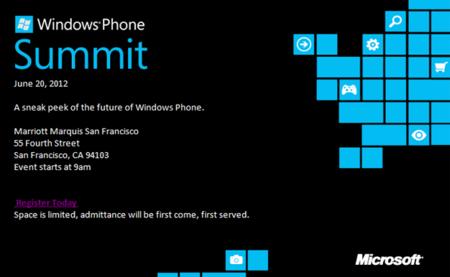 Microsoft nos adelantará algo del futuro de Windows Phone el 20 de junio