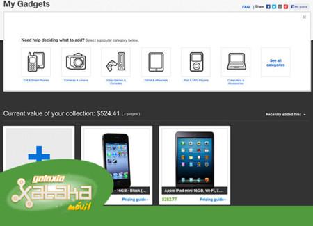 El precio de los gadgets, apps de carburantes y una tablet de regalo. Galaxia Xataka Móvil