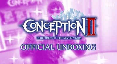Unboxing oficial de Conception II: Children of the Seven Stars