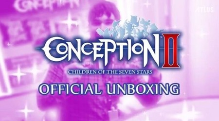 Unboxing oficial de Conception II: Children of the Seven Stars