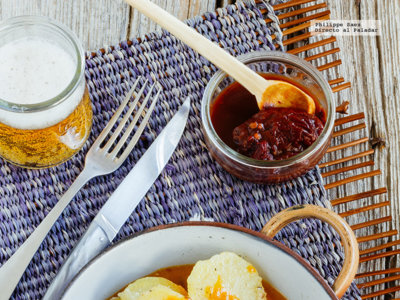 Pechuga de pollo en salsa de chile chipotle. Receta