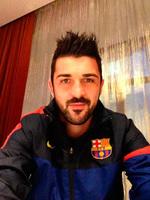 Y otro bebé a las filas del Barça: Villa vuelve a ser papá