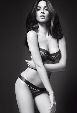 Foto de Megan Fox explosiva en lencería para Armani Underwear: todas las imágenes de la campaña (1/7)