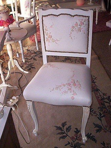Antes y después: una silla Luis XV rescatada