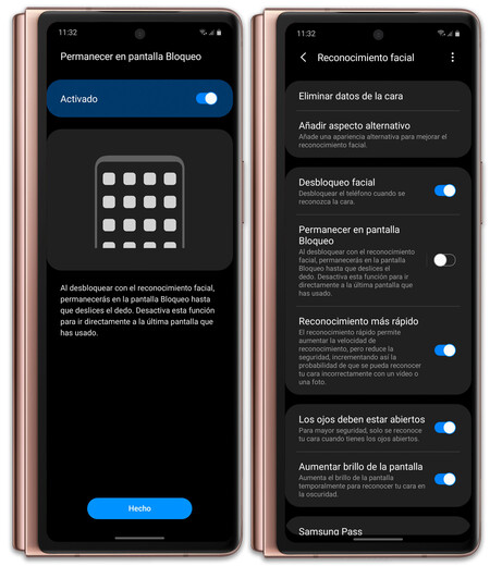 Samsung Galaxy Z Fold 2 05 Reconocimiento