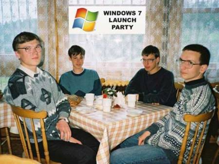 Imagen de la Semana: Windows 7 Launch Party