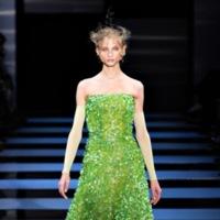 Armani Privé Alta Costura Primavera-Verano 2012: de reptiles y neones