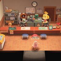 Qué puedes hacer en el ayuntamiento de Animal Crossing: New Horizons, Tom Nook te estará esperando