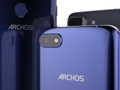 Archos Core 55S, Core 57S y Core 60S: pantallas 18:9 para una línea de teléfonos económicos que parte de 74,99 euros