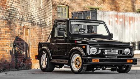 Suzuki Samurai, este 4x4 ochentero esconde bajo el cofre un motor rotativo de origen Mazda con 450 caballos