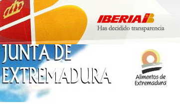 Promocionan productos extremeños en el aeropuerto de Barajas