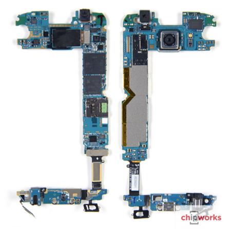 Chipworks nos enseña las tripas de un Samsung Galaxy S6