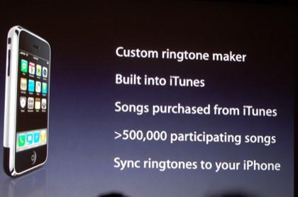 Tonos de llamada desde iTunes para iPhone