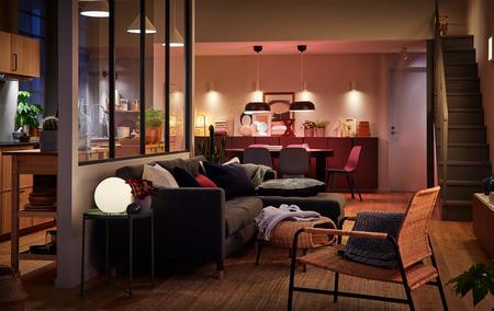 Sostenibilidad, ahorro y diseño no están reñidos. Cuatro consejos de Ikea para lograr la atmósfera perfecta con iluminación LED
